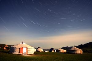 Монгол гэр, 5 ортой