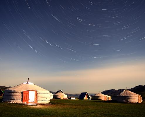 5 ортой монгол гэр